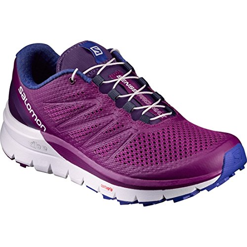 Salomon Sense Pro Max Trail Running Shoe - Women's Grape Juice/White/Surf The Web, US 11.0/UK 9.5