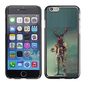 Stuss Case / Funda Carcasa protectora - Astronauta ciervos - iPhone 6