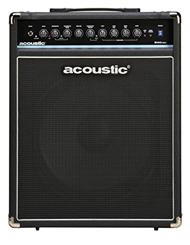 Acoustic B100mkII 100W Bass Combo Amp - Acoustic Amplifier Guitar 100w