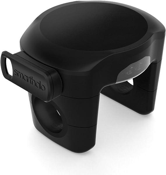Smarthalo Sh001 Smarter Fahrradassistent Mit Navigation Licht Diebstahlsicherung Fitnesstracking Led Anzeige Für Ios Und Android Schwarz Sport Freizeit