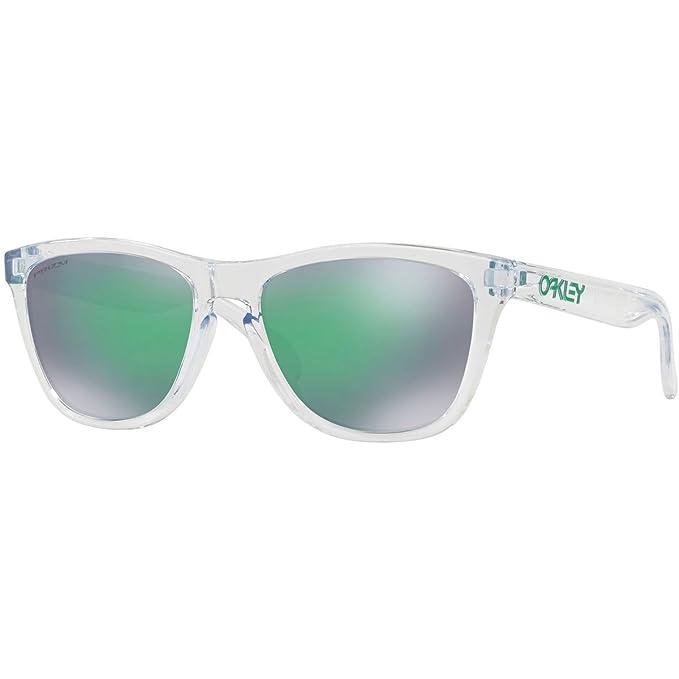 Oakley Frogskins 9013d6 Gafas de sol, Crystal Clear, 54 para ...
