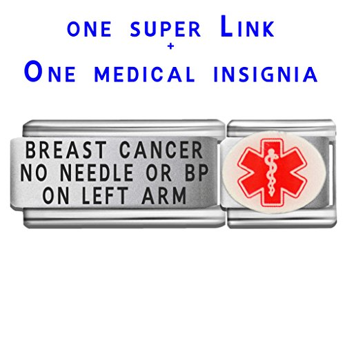 breast-cancer-no-needle-or-bp-on-left-arm-dolceoro-italian-charm-medical-id-modular-enamel-super-lin