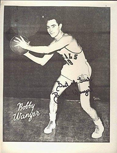 56f3deab9 Image Unavailable. Image not available for. Color  Signed Bobby Wanzer  Photo - Royals 8x10 123445 - JSA Certified - Autographed ...