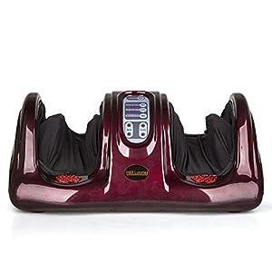 Shiatsu Kneading Rolling Foot Massager Personal Health Studio ZH-9902-red