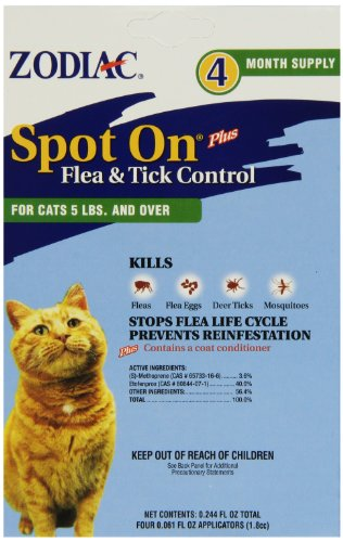 Zodiac Spot On for Cats and Kittens 51PLBcA9v3L
