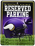 NFL Minnesota Vikings Hi-Res Metal Parking Sign