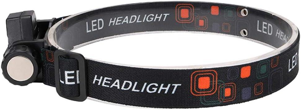 Verstellbar Stirnlampe Strinlicht Outdoor Flashlight SM SunniMix 300 Lumens USB Wiederaufladbare LED Kopflampe