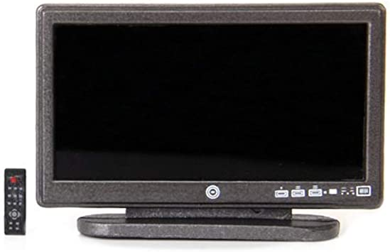 Miniatura LCD TV Dollhouse Televisor De Pantalla ... - Amazon.es