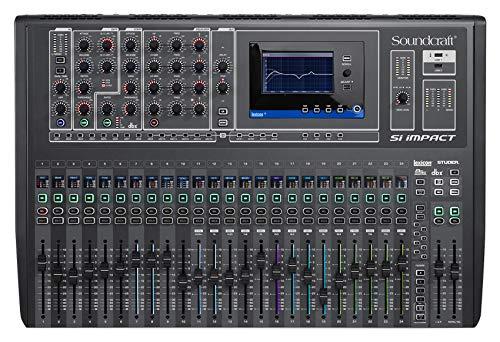 (Soundcraft Si Impact DSP 40-Channel Digital Mixer w/ 32x32 USB Audio interface)