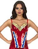 Wonderwoman Sequin Corset (Medium) (Small Image)