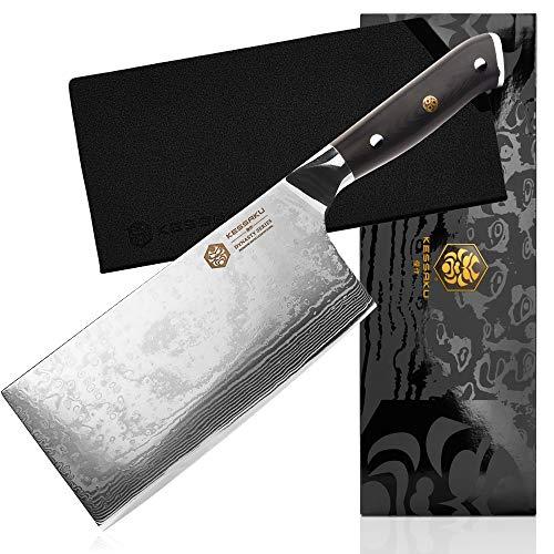 butcher knife full tang - 3