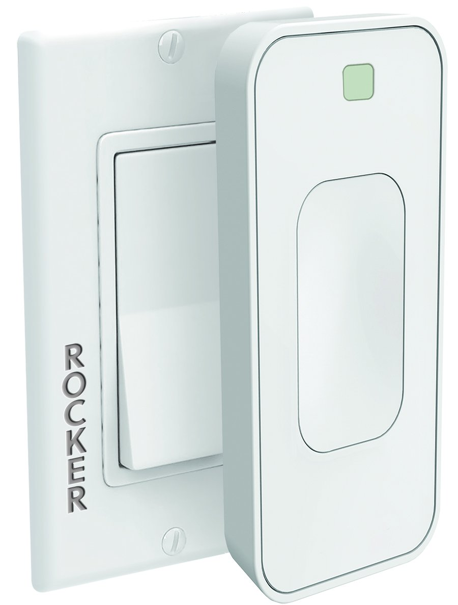Switchmate Motion Activated Snap-On Instant Smart Light Switch That Listens RSM003WAMZ Rocker