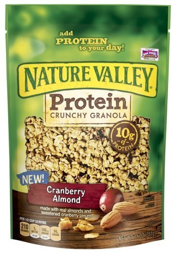 Nature Valley Protein Crunchy Granola, Cranberry Almond