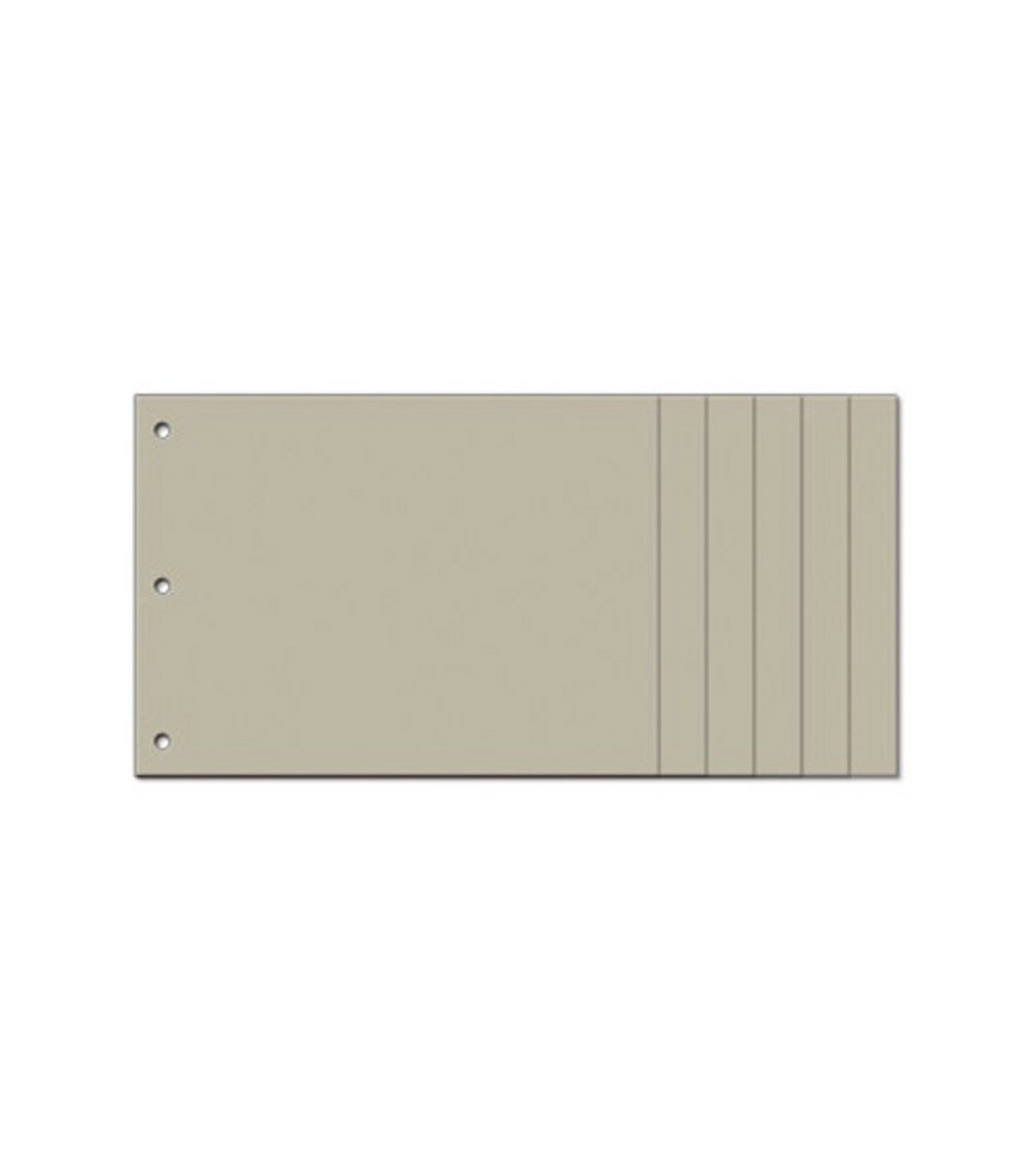 Bo Bunny 6 x 12-inch My Edgy Chipboard Album, Naked 395468