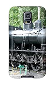 Galaxy S5 Case Cover Steam Locomotive Train Vehicles Cars Other Case - Eco-friendly Packaging