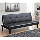 Coaster 550044 Home Furnishings Sofa Bed, Black