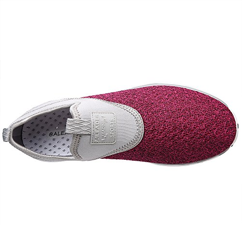 Athletic Women's Water Aleader Slip on Rose Shoes Gray q8w6TgB
