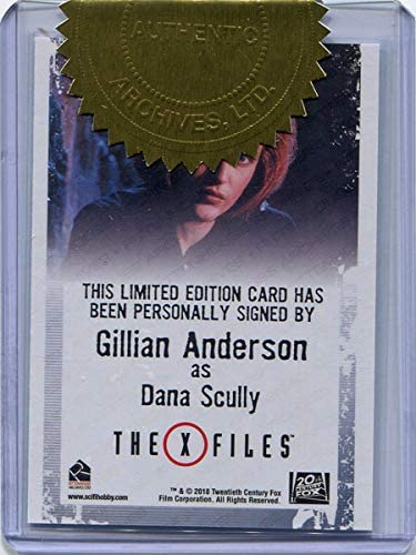 The X Files Archives Classic Autograph Card Gillian Anderson 'Dana Scully'