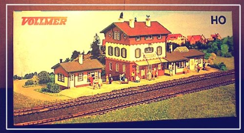 HO Scale Vollmer Station Stockheim train station RARE