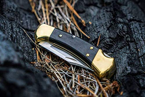 Buck Knives 112 Ranger Folding Knife with Leather Sheath by Buck Knives (Image #8)