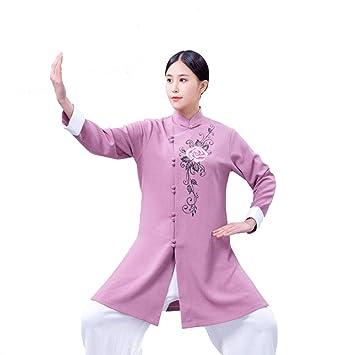QWZXAS Tai Chi Ropa Mujer Clásico Traje Tang Tai Chi Traje ...