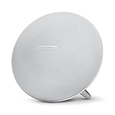 Harman Kardon Onyx Studio 3 Wireless Speaker System with Rechargeable Battery and Built-in Microphone (White)