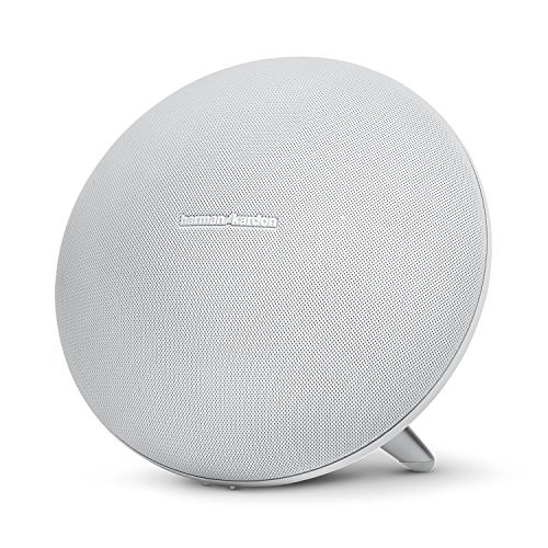 Harman Kardon Onyx Studio 3 Wireless Speaker System with Rechargeable Battery and Built-in Microphone - White