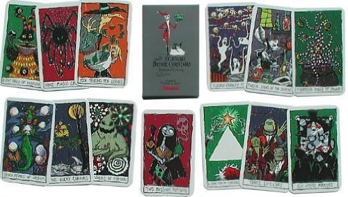 NIGHTMARE BEFORE CHRISTMAS HAUNTED MANSION TAROT CARDS