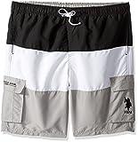 U.S. Polo Assn.. Mens Cargo Boardshorts, 4581-Black, 4X