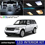 LEDpartsNow 2005-2013 Land Rover Range Rover Sport L320 LED Interior Lights Accessories Replacement Package Kit (20 Pieces), WHITE