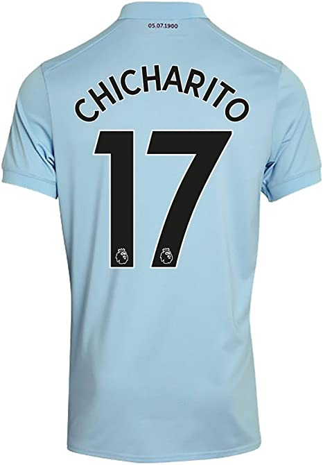 West Ham United 3ª Chicharito Jersey 2017/2018 (auténtico EPL ...