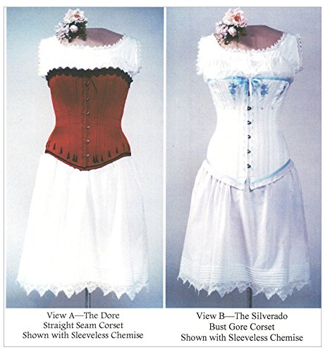 Ladies Victorian Underwear Corset Chemise Drawers 1840-1900 Sewing Pattern  Lmm100 (Pattern Only) Laughing Moon Mercantile
