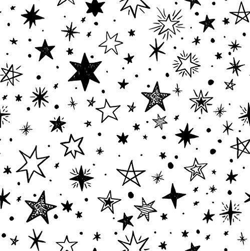CSFOTO 5x5ft Background for Six-Star Starry Photography Backdrop Hand Drawn Star Childish Birthday Party Ornament Party Tablecloth Children Kid Baby Portrait Photo Studio Props Polyester Wallpaper from CSFOTO