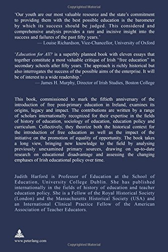 Education For All The Legacy Of Free Postprimary Education In  Education For All The Legacy Of Free Postprimary Education In Ireland  Judith Harford  Amazoncom Books Essay About Healthy Food also Good Persuasive Essay Topics For High School  Write A Good Thesis Statement For An Essay