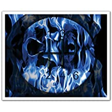 J.P. London POSLT2112 uStrip Lite Removable Wall Decal Sticker Mural Blue Heat Hot Wheels Gearshift Street Racing, 24-Inch X 19.75-Inch