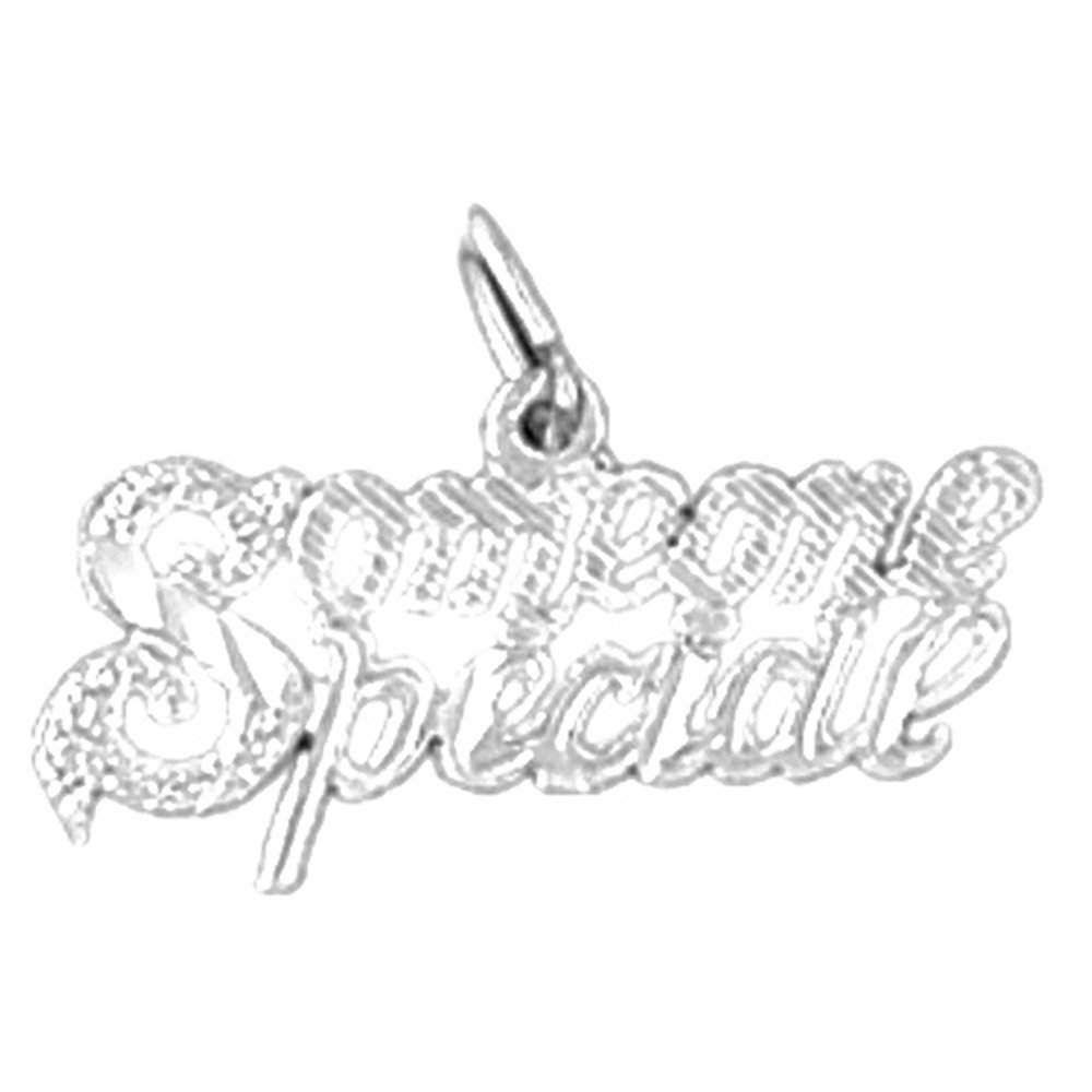Rhodium-plated 925 Silver Someone Special Pendant with 18 Necklace Jewels Obsession Someone Special Necklace