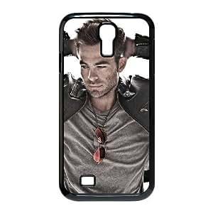 Chris Pine Samsung Galaxy S4 Case, Case Stevebrown5v {Black}