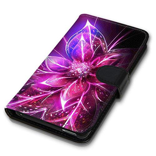 Wallet Book Style Flip Handy Tasche Case Schutz Hülle Schale Motiv Etui für Apple iPhone 4 / 4S - Design Flip MVD361