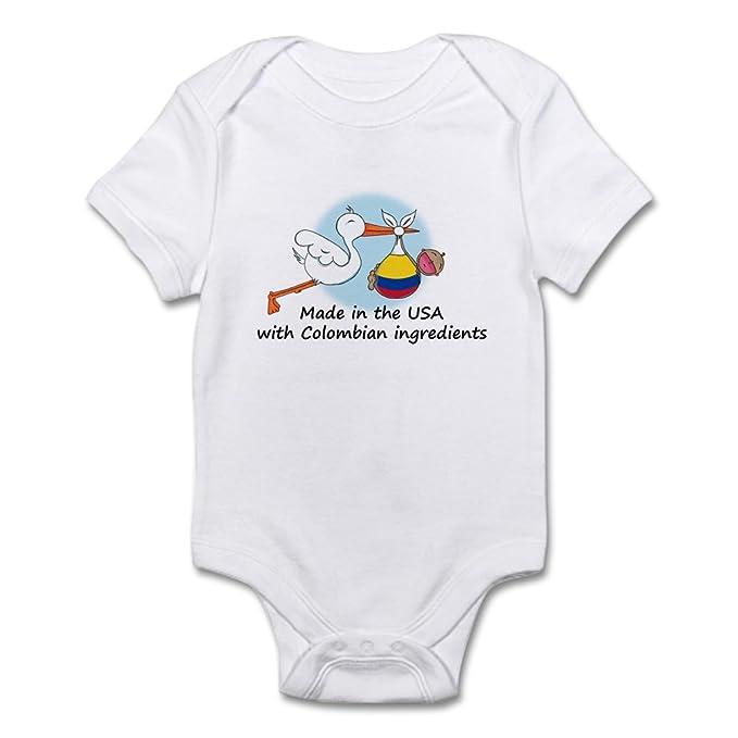 Amazon.com: CafePress Stork Baby Estados Unidos de Colombia ...