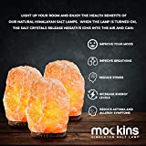 Mockins 3 Pack Natural Hand Carved Himalayan Salt