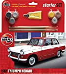 Airfix Triumph Herald Starter Gift Set (1:32 Scale) by Hornby