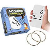 Star Right Addition Flash Cards, 0-12 (All Facts, 169 Cards) With 2 Rings