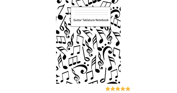 Guitar Tablature Notebook: Large Blank Guitar TAB Book : Blank ...