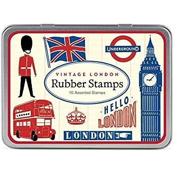 amazon com deep red stamps british flag grunge rubber stamp arts