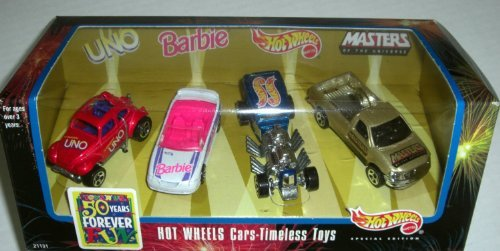 Barbie Hot Wheels - Hot Wheels Toys 'R' Us Exclusive Timeless Toys Set # 3(1998 Issue)