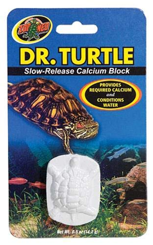 Zoo Med Laboratories SZMMD11 Dr. Turtle Slow-Release Calcium Block, Net WT .5 oz (Turtle Sulfa Block)