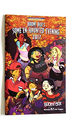 Boom Boxs Some En Haunted Evening 2017 Mini-Comic Book 8 1/2 Inches X 5 1/2 Inches - Halloween Comicfest - 2017 - Uncirculated 1st Printing -