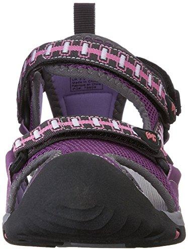 Kamik Jetty - Sandalias Cerradas, Unisex Infantil Morado (Purple/Pur)