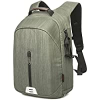 Beaspire Professional Waterproof Camera Bag Large Capacity Travel backpack(Green)