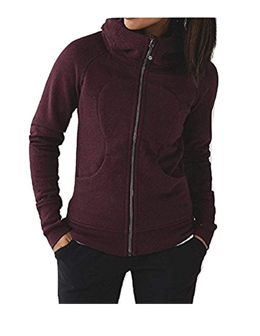 Lululemon Scuba Hoodie III Heathered Bordeaux Drama (4)